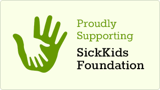We support SickKids