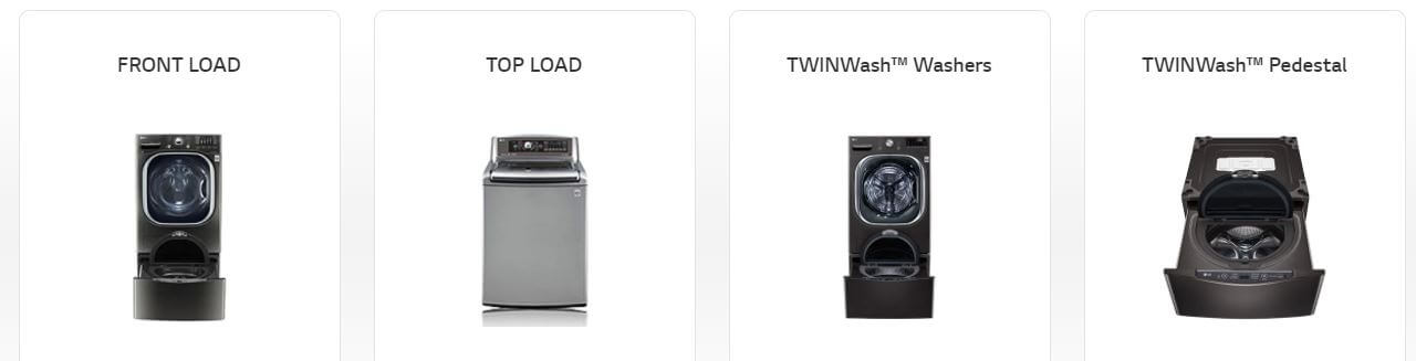 washer type